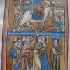 Christ entering Jerusalem, and Christ betrayed by Judas