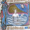 initial S incorporating King David in water
