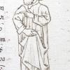 marginal drawing of Albemazar