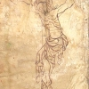 rough sketch of the Crucifixion