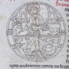 initial O incorporating Christ and Adam