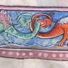 column filler showing dragons