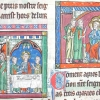 miniatures showing Christ and the apostles