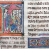 miniature showing Christ and the apostles
