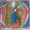 initial P showing Mary Magdalene