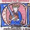 initial C incorporating King Solomon