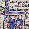 initial U incorporating Jeremiah and two men
