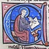 initial E incorporating Baruch writing