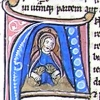 initial A incorporating Daniel and two lions