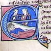 initial E incorporating David in bed
