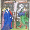 miniature for Good Friday showing the Crucifixion