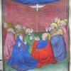 miniature showing the Pentecost