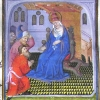 miniature showing Peter enthroned