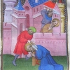 miniature showing the martyrdom of Saints Peter and Paul
