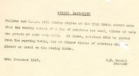 Potato rationing (12 Nov 1947)