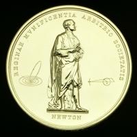 The Royal Medal (back) © The Royal Society