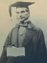 Photograph of Adams taken in 1856