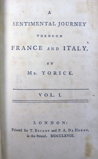 1768 Vol 1 title page