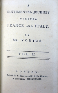 1768 Vol 2 title page