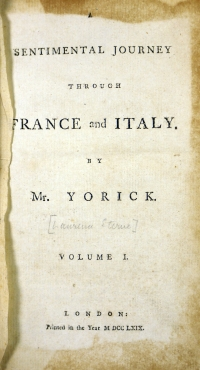 1769 Vol 1 title page
