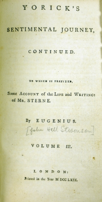 1769 Vol 3 title page