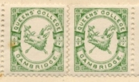 Queens' College stamp