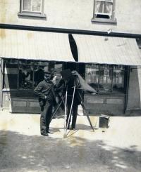 Samuel Butler, 'Photographer at work. St Brelade. Jersey. May 23' (1893; detail)