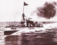 The steam-driven Turbinia