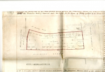 Plan of Birdbolt for Beales' lease (1862)