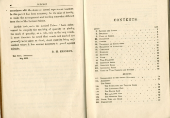 Preface to Kennedy's Latin Primer (1924)