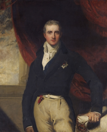 Lord Castlereagh, by Frank Moss Bennett, after Sir Thomas Lawrence's original