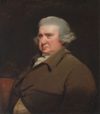 Erasmus Darwin, possibly by James Rawlinson, a copy of the portrait by Joseph Wright of Derby