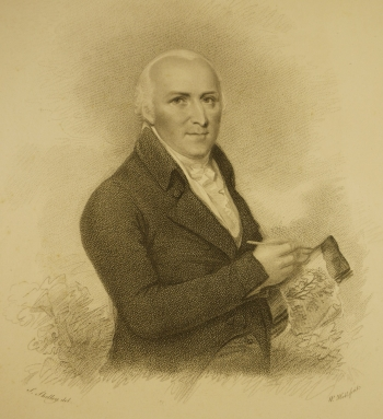 Frontispiece: portrait of Humphry Repton sketching.