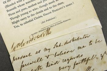 Wordsworth's signature