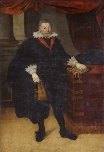 Sir Ralph Hare, by Marcus Gheeraerts the younger