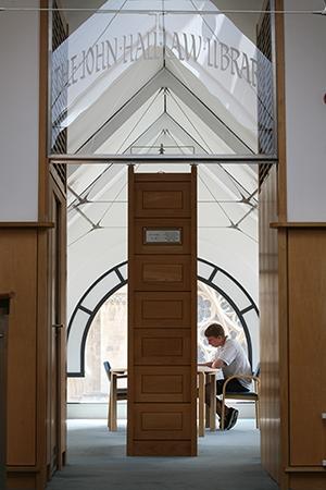 The John Hall Law Library at St John's