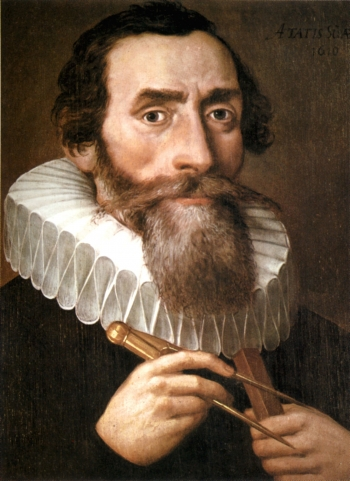Johannes Kepler, portrait by an unknown artist. Credit: Wikimedia Commons