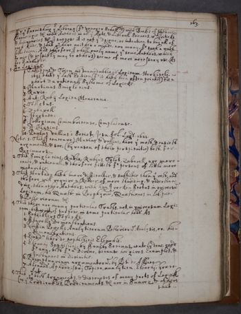 Guidelines for establishing a library, from MS K.38