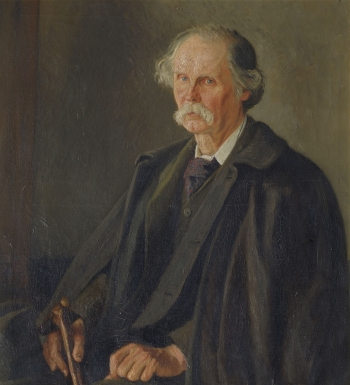 Alfred Marshall, by William Rothenstein