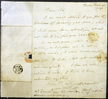 Darwin's letter to Jerningham.