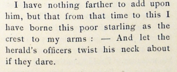 1894 absence of starling arms