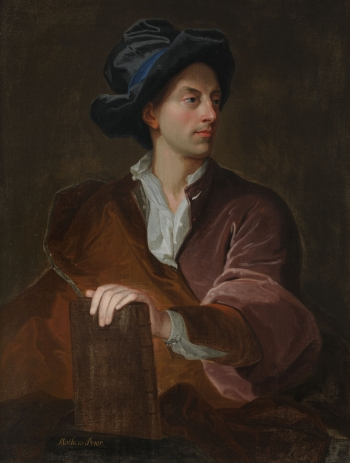 Matthew Prior, by Hyacinthe Rigaud