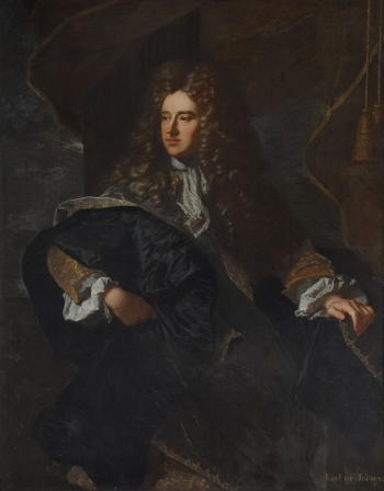 Edward Villiers, by Hyacinthe Rigaud and studio