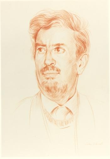 Portrait drawing by John Edwards (1985)