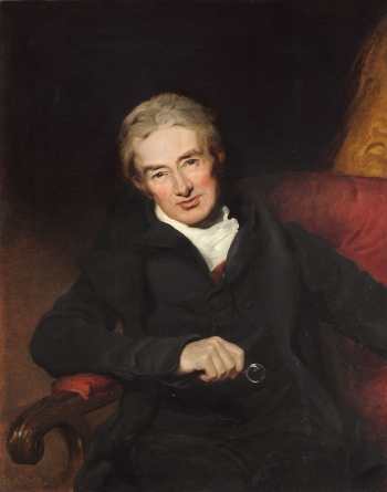 William Wilberforce, by George Richmond, a copy of the portrait by T Lawrence in the National Portrait Gallery