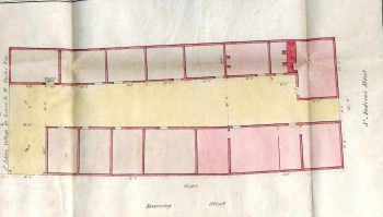 Plan for Beales' lease (1835)