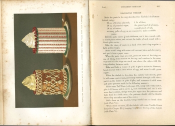 Page from GW Parsley's Royal Book of Confectionary