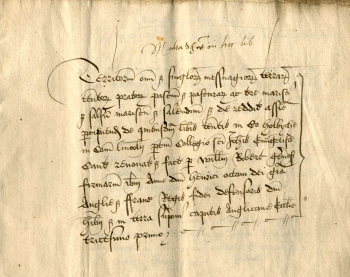 Folio 3 of Holbeach Terrier