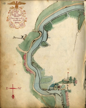 Map of the Cam (1825-1833)