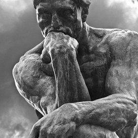 The Thinker, Rodin, 1902